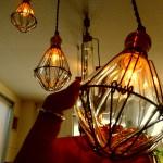 手作りで作られたぬくもりのある灯り
