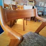 意匠の椅子。