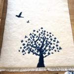 後世に受け継がれる、絨毯。