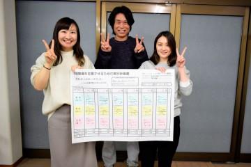 環境整備実行計画作成中-ミヤモト家具-レンタル&コーディネート事業部2020.11.11
